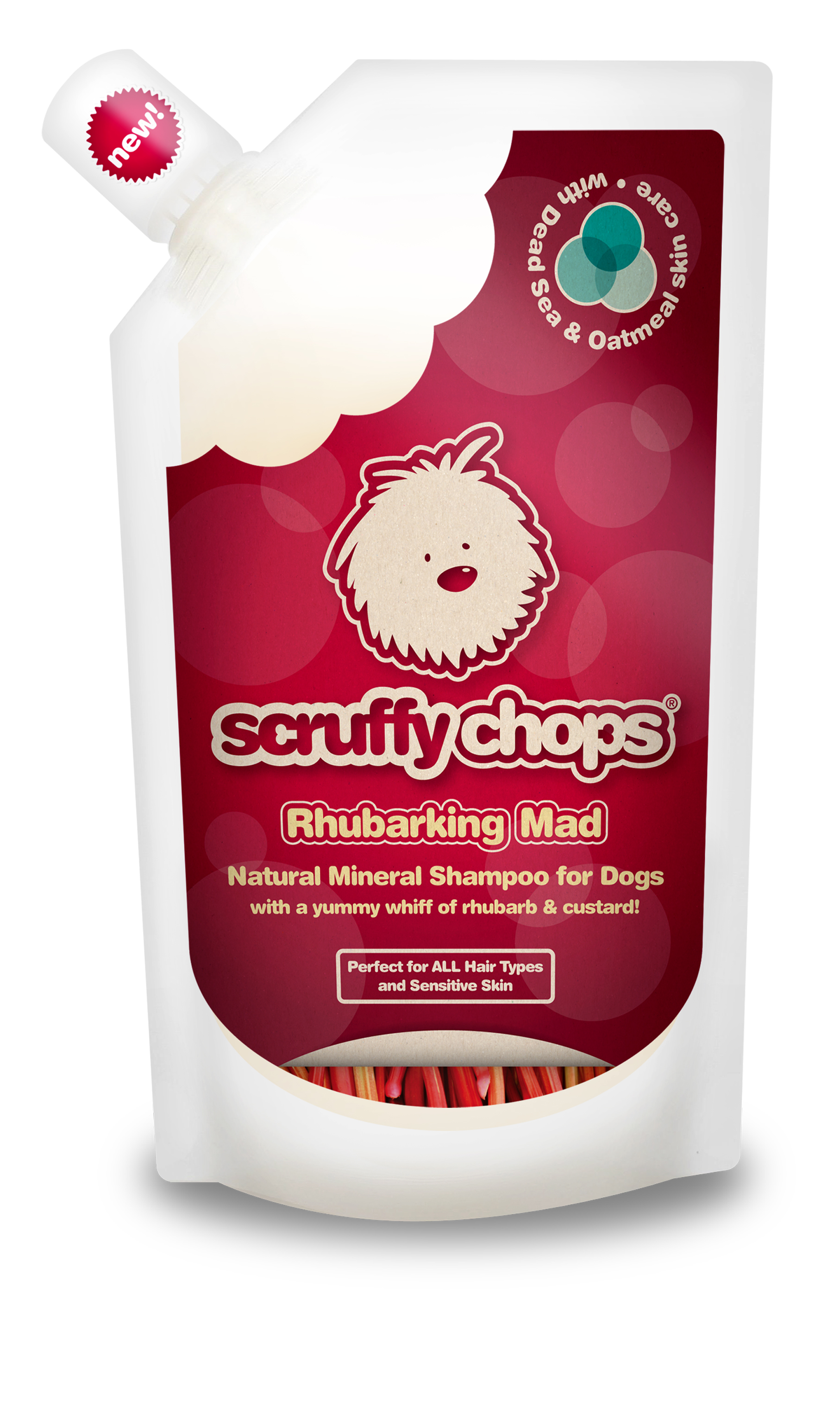 Rhubarking mad shampoo 250ml new